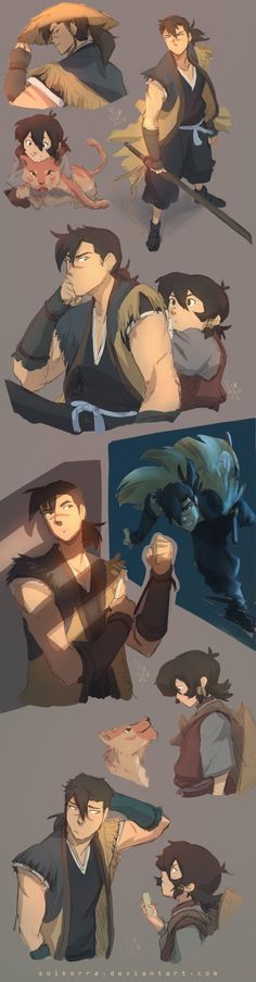 Shiro And Keith X Sword Of The Stranger by SolKorra on DeviantArt <<< These parallels are so accurate it hurts