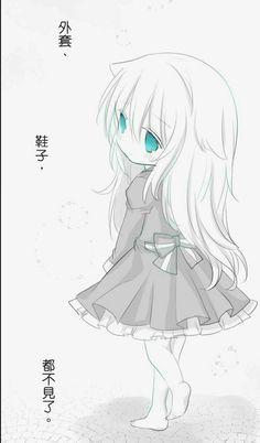 Cute Anime Chibi, Anime Neko, Anime Love, Kawaii Anime, Manga Anime, Kawaii Neko Girl, Loli Kawaii, Anime School Girl, Anime Child