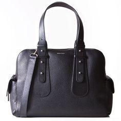 Loretta Work Bag (+ free accessories purse) - Black