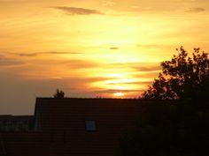 Sommer-Sonnen-Untergang