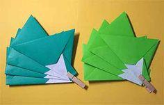 折り紙でクリスマスリースの折り方!8枚で簡単な飾りの作り方 | セツの折り紙処