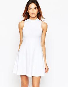 062db2e0 ASOS+High+Neck+Empire+Dress Floral Sundress, Summer Dresses For Women