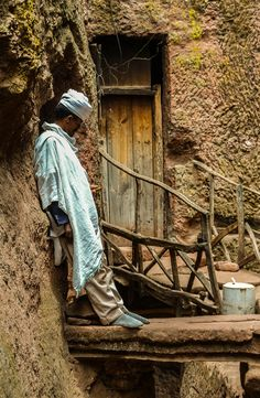 A priest in #Lalibela, #Ethiopia http://one-penny-trip.com/africa/the-wonders-of-lalibela/ #Africa #religion #UNESCO