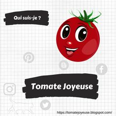 A propos du blog Tomate Joyeuse ! Le fameux qui suis-je ! Pin, Blog, Fictional Characters, Ideas, Deceit, Tomatoes, Apple, Birthday, Everything