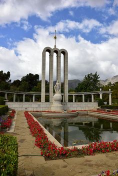 The Huguenot Memorial, Franschhoek, Western Cape, South Africa. Apartheid Museum, Pocket Full Of Sunshine, Namibia, Memorial Museum, African History, Beautiful Places To Visit, Africa Travel, Holiday Destinations, Cape Town