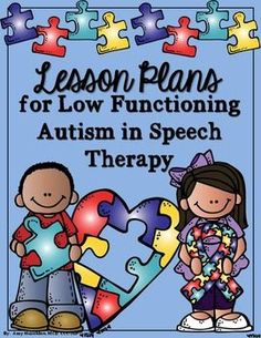 Autism, lesson plans, speech therapy, low functioning, profound, nonverbal, augmentative alternative communication, AAC, work tasks, job tasks, seat belt chair, communication, compliance tasks, preference inventory, editable **Updated 7/2015 with matching activities and editable forms, download again if you own this!** Have you ever had a nonverbal student who was profoundly affected/disabled by autism in your class or on your caseload?