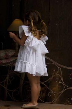 Vestido Lazo Espalda Blanco | No Sin Valentina