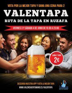 Llega la ValenTapa, la ruta de la tapa gourmet en Valencia - http://www.valenciablog.com/llega-la-valentapa-la-ruta-de-la-tapa-gourmet-en-valencia/