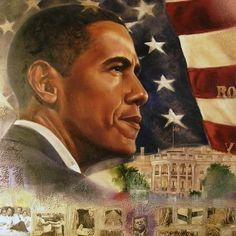 Barack Obama by Kevin A Williams (WAK)