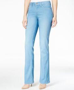 Nydj Barbara Palm Bay Wash Bootcut Jeans