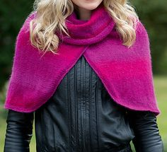 Ravelry: Bonfire Night cape pattern by Lisa Richardson