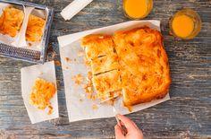 Αέρινη πανεύκολη πατσαβουρόπιτα Blondie Brownies, Spanakopita, Blondies, Pineapple, Fruit, Ethnic Recipes, Food, Fine Dining, Pine Apple
