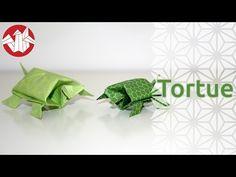 Origami - Tortue - Tortoise [Senbazuru] - YouTube