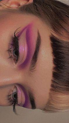 Dope Makeup, Edgy Makeup, Baddie Makeup, Makeup Eye Looks, Eye Makeup Art, Makeup Goals, Pretty Makeup, Skin Makeup, Makeup Inspo