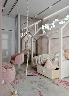 Totally Awesome Kid's Room Ideas You'll Feel like Redecorating. Decorating rooms for kids is always fun to do. There are lots of fantastic kid's room ideas you'll find it hard not to choose, such as the list below. Girl Room, Girls Bedroom, Bedroom Decor, Decor Room, Dressing Room Design, Stylish Bedroom, Kids Room Design, Interior Design, Home Decor