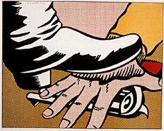 , huile de Roy Lichtenstein (1923-1997, United States)