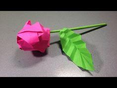 Роза оригами. Оригами из бумаги роза схема. Rose origami. Origami scheme how to make rose. - YouTube