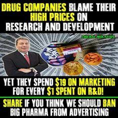 I've been against pharmaceutical ads on TV for years.