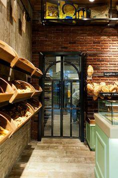 Constantinos Bikas interior designer - Kogia bakery by Konstantinos Bikas, via Behance