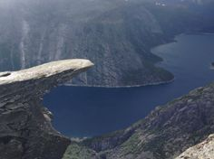 Breathtaking Proposal in Norway