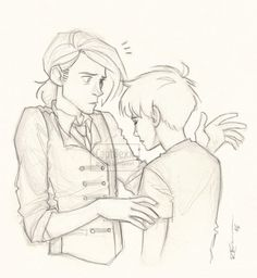 Draco & Scorpius by captbexx. Pinned by @lilyriverside