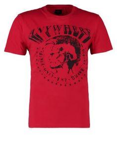 BERT - T-shirts med print - rød