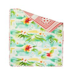 Pacific Flower Quilt 220x240, £113, now featured on Fab.