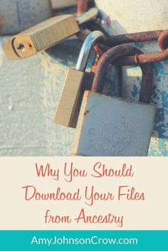 Keep your genealogy files safe with the LOCKSS principle. via @amyjohnsoncrow