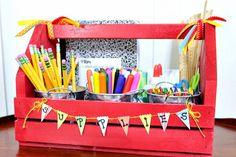 {Featured} DIY Homework Station in Ella and Annie Magazine Teacher Appreciation Gifts, Teacher Gifts, Projects For Kids, Wood Projects, Homework Station Diy, Back To School, School Life, School Stuff, Organization Hacks