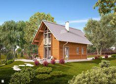 Projekt Domu - Murator DL14S - Marzycielski - zdjęcie od Murator PROJEKTY - Ogród - Styl Skandynawski - Murator PROJEKTY