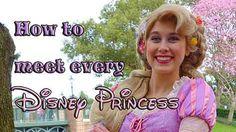 Tips on how to meet every Disney Princess @ Disney World