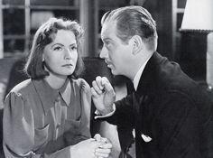 """""""Ninotchka"""" 1939 Greta Garbo and Melvyn Douglas"""