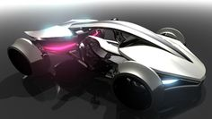 futuristic cars | Futuristic Epine Concept Car was Inspired by Racing Vehicles