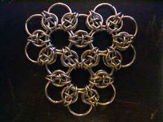 Celtic Rose Sheet (hexagonal tessellation) - Weave Tutorials - Maillers Worldwide