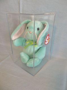 Retired 1996 Ty Beanie Babies Hippity Bunny Rare No  plus Canadian Tag   amp  PVC 995e13916d5b