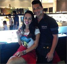 A blogueira @maritorres_j foi ao quiosque da NYX do Shopping Goiabeiras e se apaixonou pelo Matte Lipstick Sweet Pink