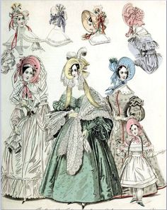 The World of Fashion and Continental Feuilletons 1836 Plate 44