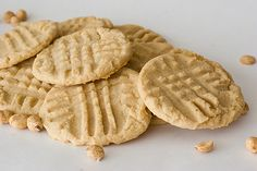 Chewy Peanut Butter Cookies - Taste and Tell