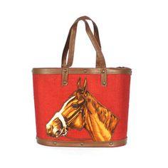 Horse Head Bag Red (Fab)