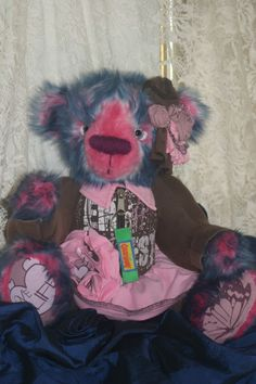 It's not all about the fashion! A very special bear. obsessive Creative Design #blog #memorial #teddy