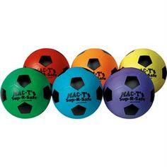 Sup-R-Safe Soccer Ball - Set Of 6