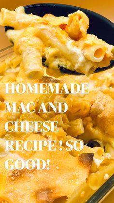 Mac And Cheese Recipe Soul Food, Best Macaroni And Cheese, Macaroni Cheese Recipes, Easy Mac And Cheese, Mac And Cheese Homemade, Homemade Mac And Cheese Recipe Baked, Velveeta Mac And Cheese, Macaroni And Cheese Casserole, Crockpot Mac And Cheese