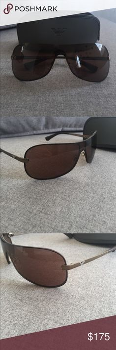 Emporio Armani's men sunglasses Emporio Armani Men's Sunglasses. Like new worn twice only. Comes with case. Emporio Armani Accessories Glasses