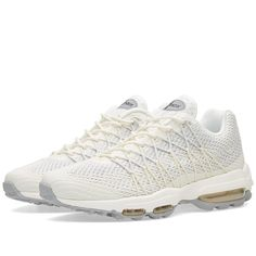 Buy the Nike Air Max 95 Ultra Jacquard in Sail & Pure Platinum from leading mens fashion retailer END. - only Fast shipping on all latest Nike products. Air Max 95, Nike Air Max, Mariah Carey Weight, Air Max Sneakers, Sneakers Nike, Fat Burning Supplements, Nike Shoes, Nike Footwear, Pure Platinum