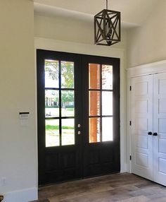 1st Coat Of Stain Ebony By Minwax On My Front Door Industrialstyle