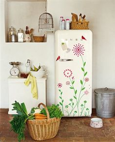 customized fridge