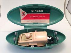 Vintage 1960 Singer Buttonholer