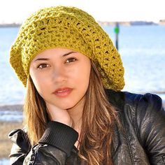 teen fashions and accessories   Teen Slouch Hat Pea Green Teen Fashion Winter Accessories Winter ...