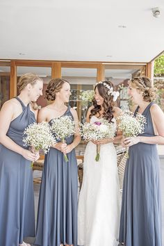 Baby's Breath Bouquets - See the wedding here: http://www.StyleMePretty.com/australia-weddings/2014/04/07/sweet-diy-wedding-in-woodstock/ http://www.TamikaLeePhotography.com on #SMP