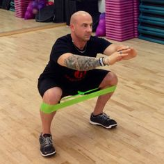 Ditch an exercise ball and use this awesome tool instead to make your squats more effective: http://www.shape.com/fitness/workouts/15-exercises-trainers-would-never-do?page=6